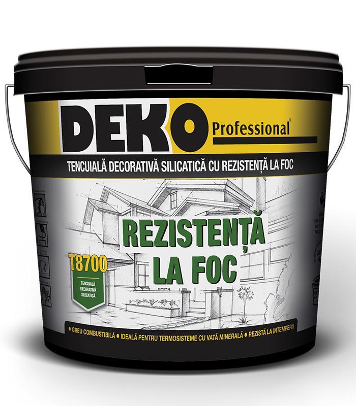 DEKO T8700 REZISTENTA LA FOC Braila si Tulcea
