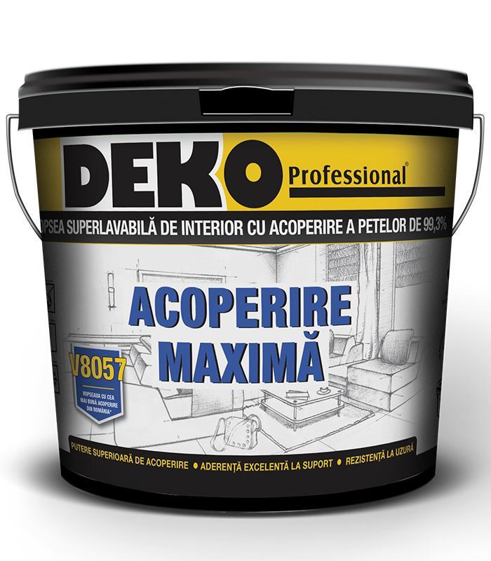 DEKO V8057 ACOPERIRE MAXIMA 99.3% Braila si Tulcea